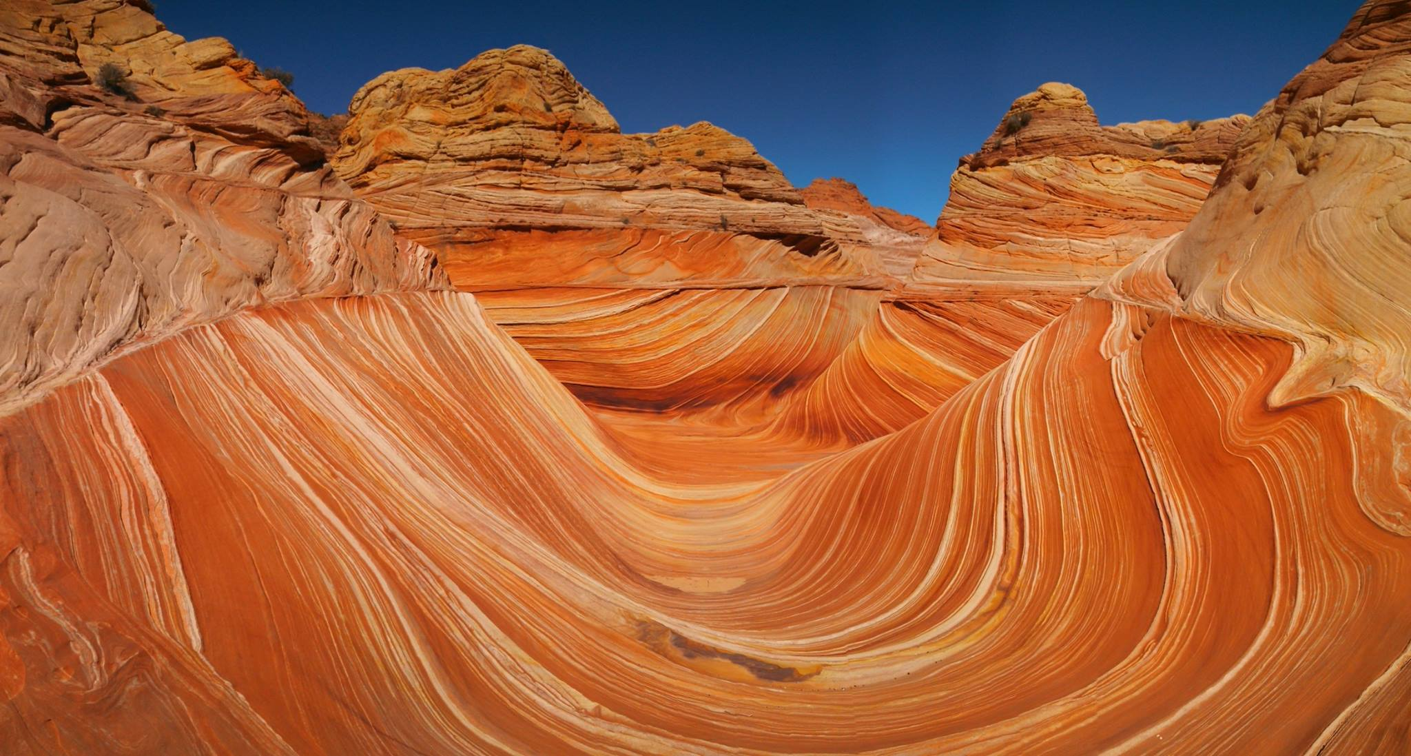 The Wave Tour - hike the 6-8 miles of Coyote Buttes North and the Wave