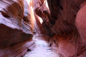 Sunshine in Peekaboo Slot Canyon