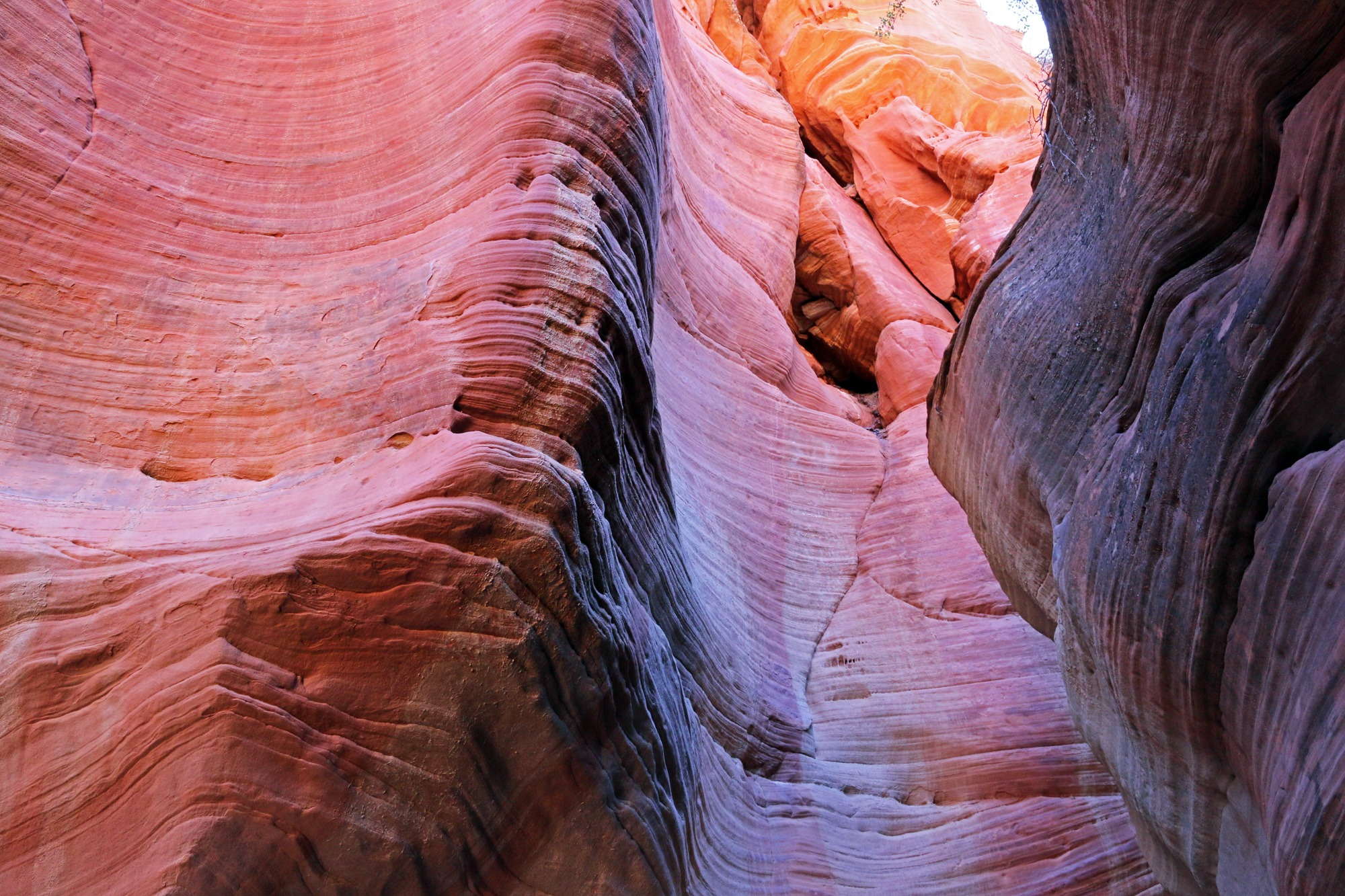 Peekaboo Slot Canyon at sunset