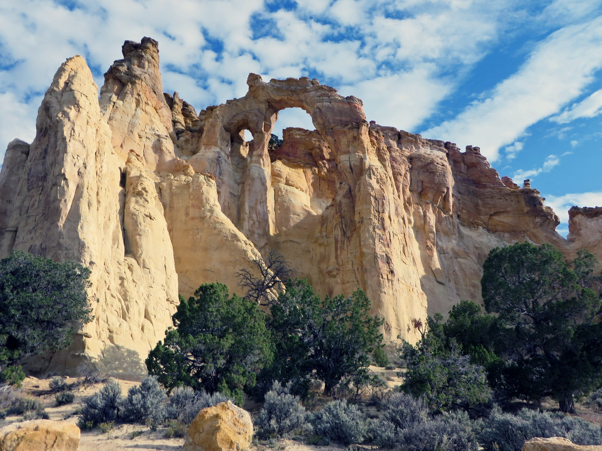 Grosvenor Arch in Grand Staircase-Escalante National Monument