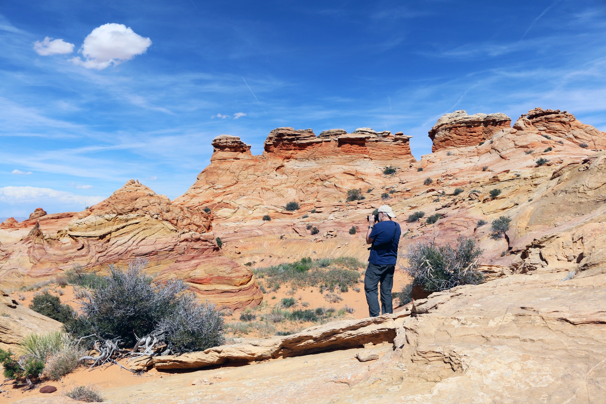 Photography tour of South Coyote Buttes