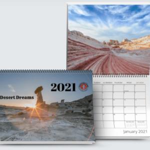 2021 Dreamland Calendar