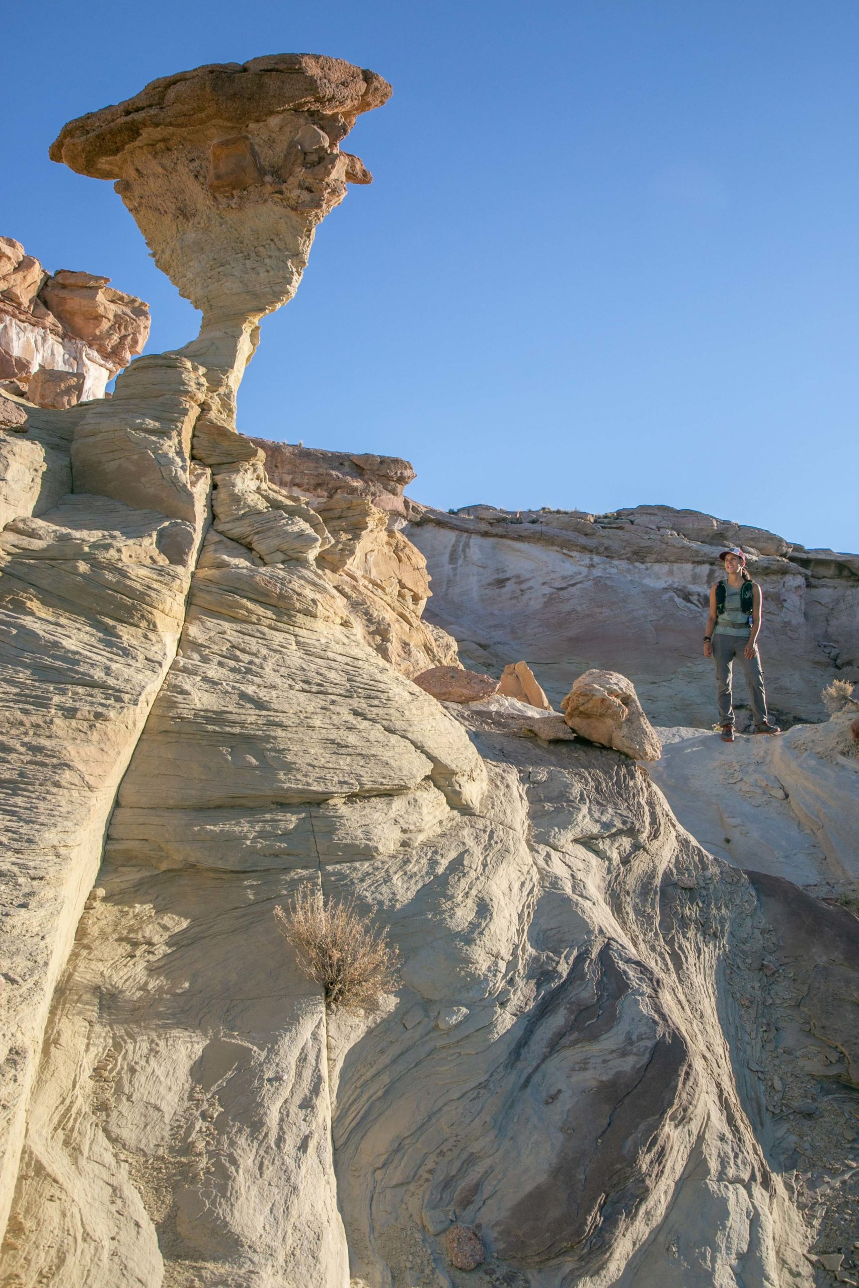 Grand Staircase hikers photography